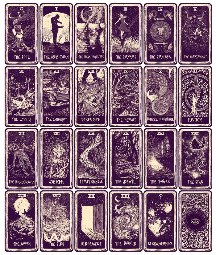 Light Visions Tarot,  Major Arcana,  What a lovely looking deck. Love the art.