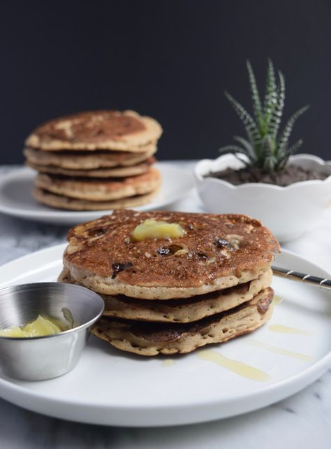 Fluffy Brown Rice Pancakes
