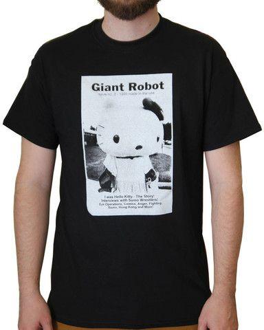 Giant Robot - Issue 2 T-shirt – GiantRobotStore