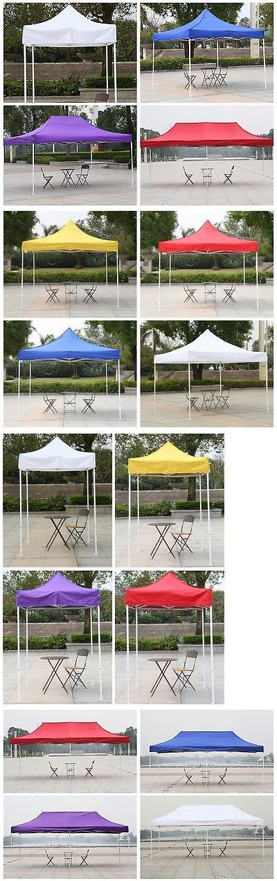 Other Structures and Shade 177026: Canopy 10X10 10X20 10X15 5X5 Shelter Car Shelter Wedding Easypop Up Tent -> BUY IT NOW ONLY: $174.79 on eBay!