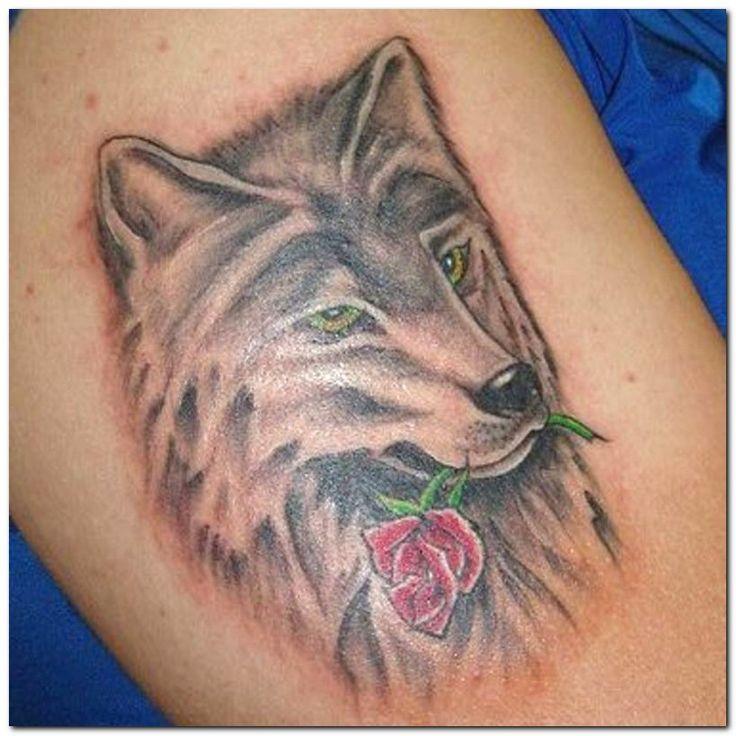 The 25 Best Wolf Girl Tattoos Ideas On Pinterest: 20 Best Small Feminine Wolf Tattoo Images On Pinterest