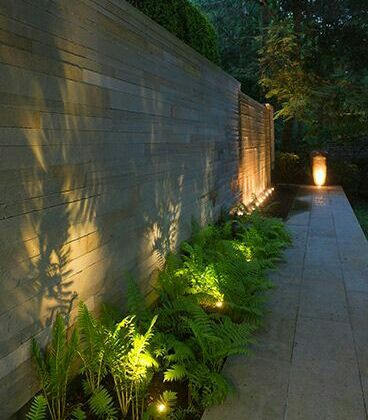 the best lighting solutions for your outdoor room and landscaping.