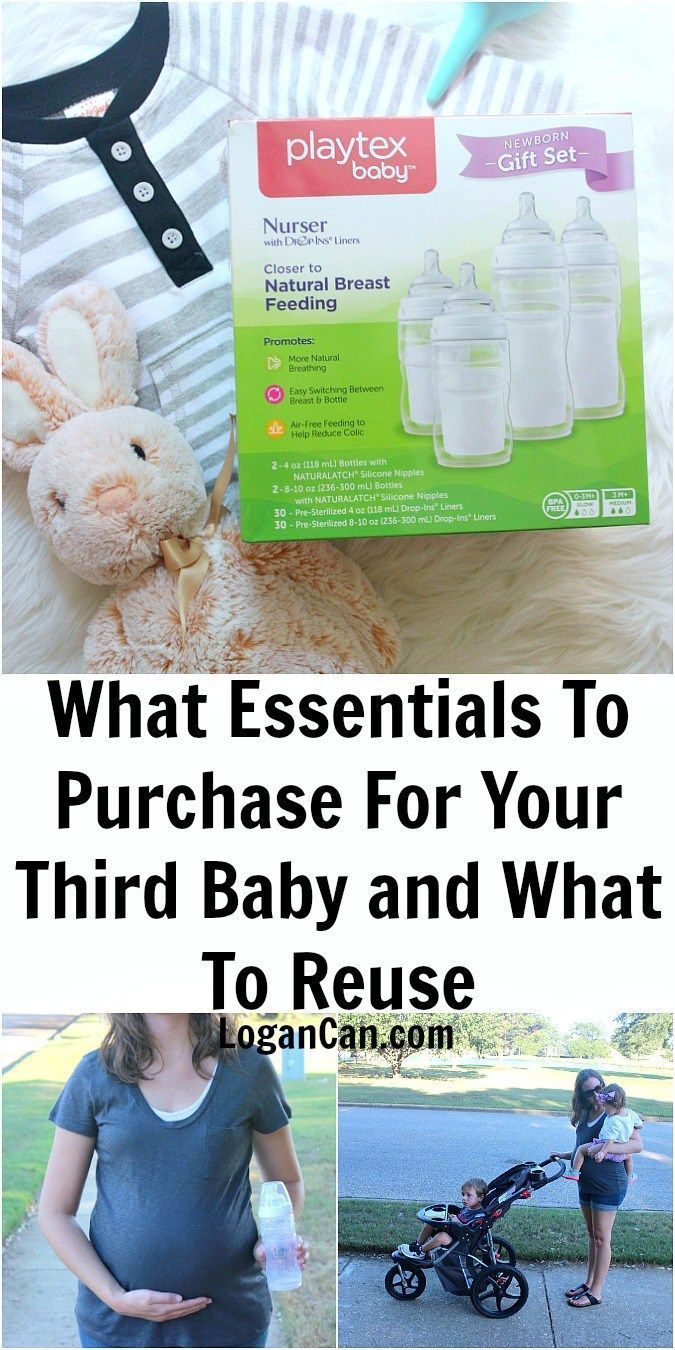 What Essentials To Purchase For Your Third Baby and What to Reuse #ad #MomsHelper