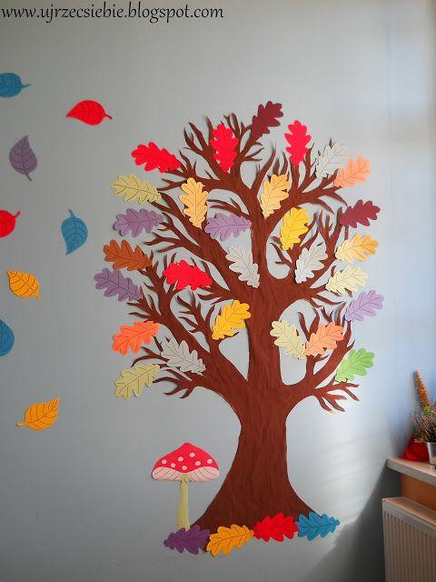 Ujrzeć Siebie: Jesienna dekoracja sali w przedszkolu/szkole