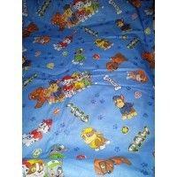 Lenjerii de pat copii Paw Patrol albastru 140x210