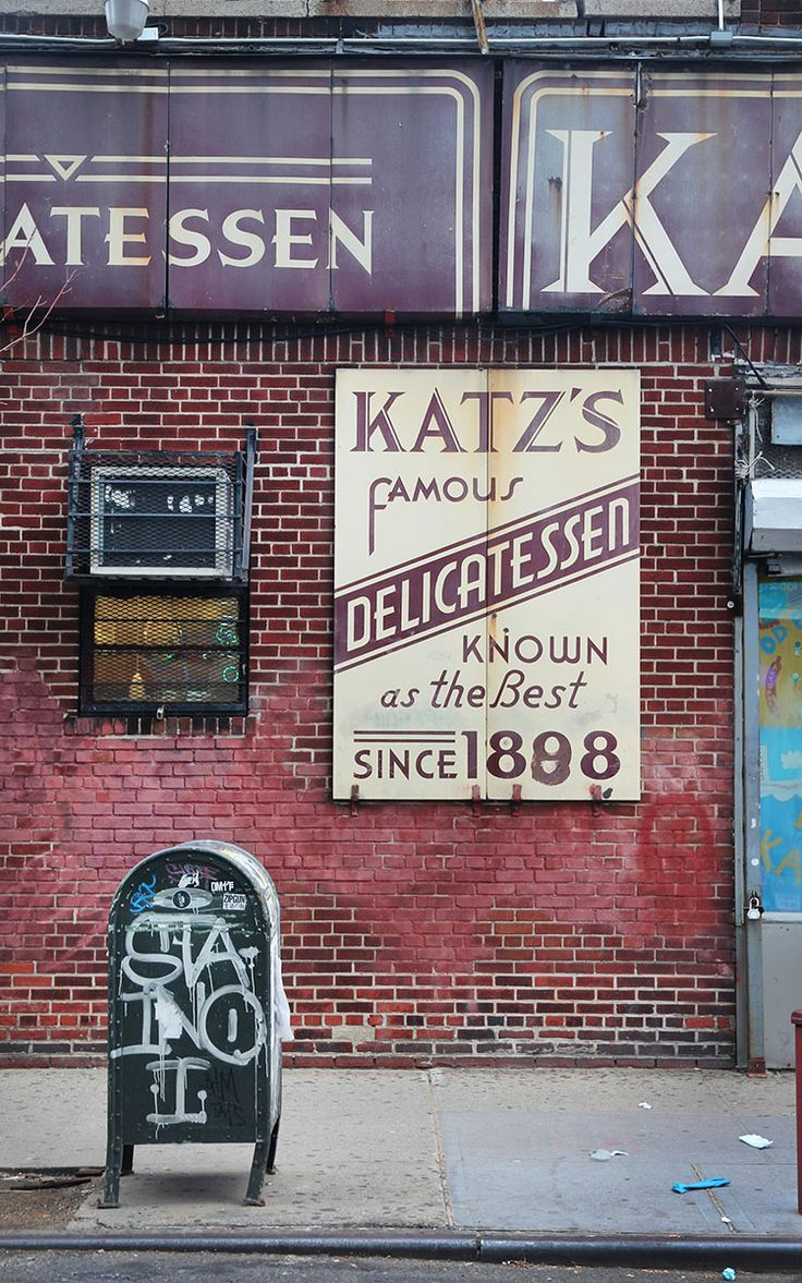 Katz's Delicatessen - When Harry met Sally
