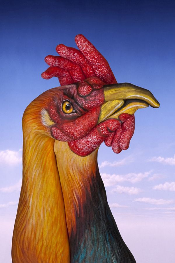 Incredible Hand Painting Art by Guido Daniele