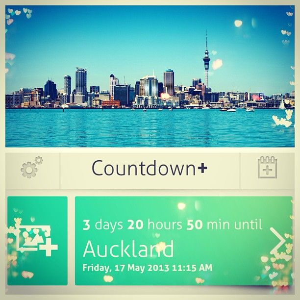 Auckland Countdown (17-20 May 2013)