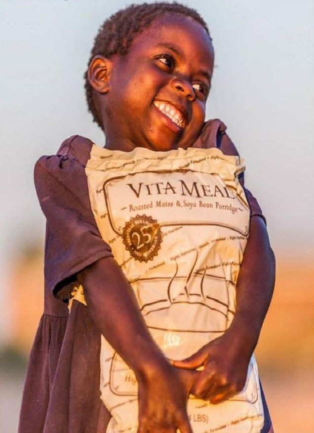 VitaMeal is specially formulated for malnourished children or family use and produced by Nu Skin® - a company with extensive experience in nutrition.Each VitaMeal package contains 30 child-sized meals, or enough food to provide a child with one nutritious meal each day for a month.