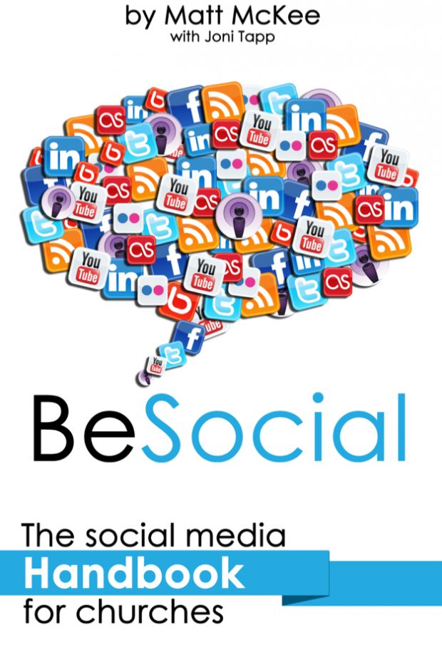 Highly recommend this FREE Social Media Handbook for Churches by Matt McKee and Joni Tapp, for anyone who runs your churches social networking sites! It's a great resource.