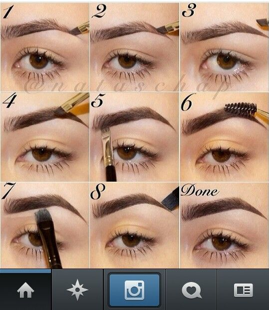 One day I will get my brows to look like this. Patience Michele Patience!