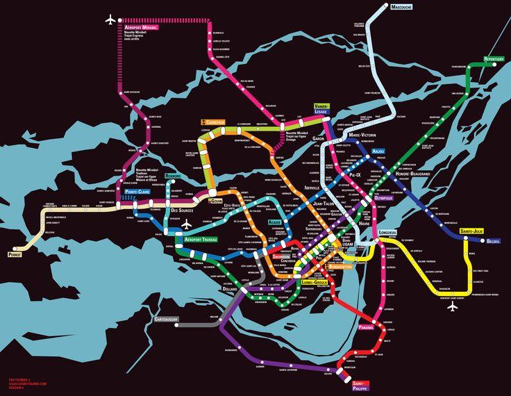montreal metro - Google Search