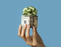 Give the gift of money for Christmas!