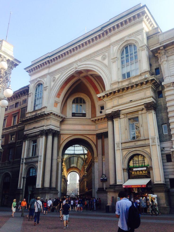 Milano/ shopping gallery