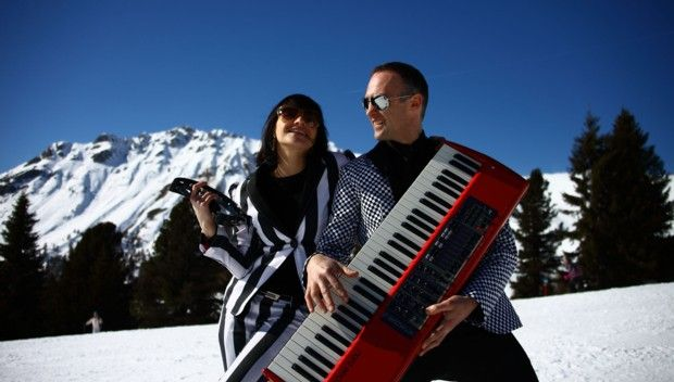Snow and black notes... perfect combination! http://blog.100days.it/dolomiti-ski-jazz/