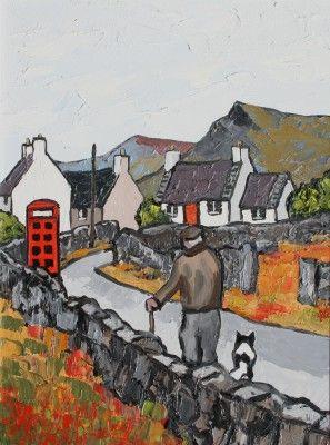 British Artist David BARNES - Going Home