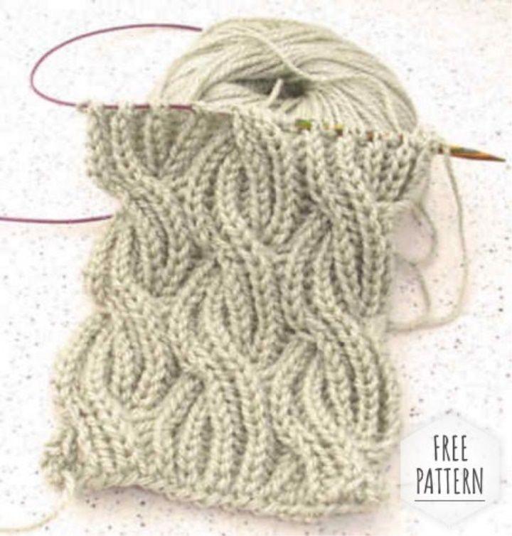 Como tricotar um lenço na técnica