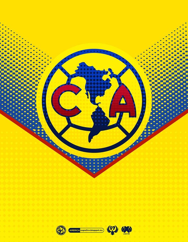 Logo club am 233 rica americanografico mis equipos pinterest