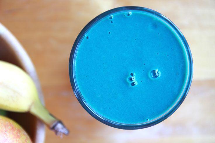 Šmoulí smoothie / Smurf smoothie