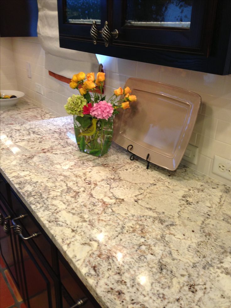My kitchen turned out gorgeous with sienna Bordeaux granite! More