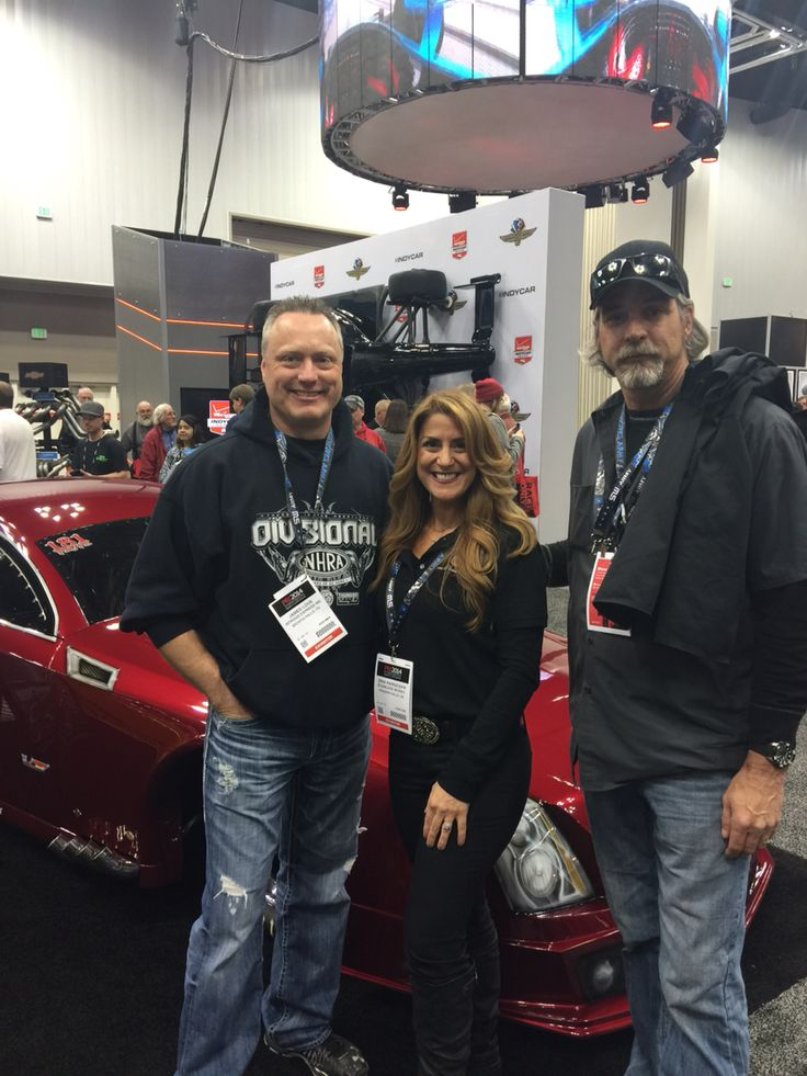 Doc and Monza from Street Outlaws.. Super nice guys!