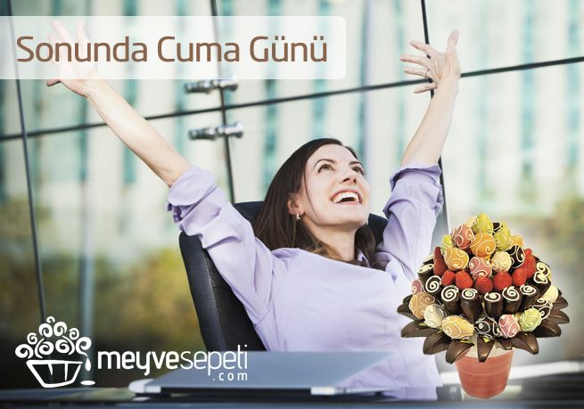 En sevdiğimiz gün CUMA ! #meyvesepeti #meyvebuketi #meyvesepeti.com #friday #happy