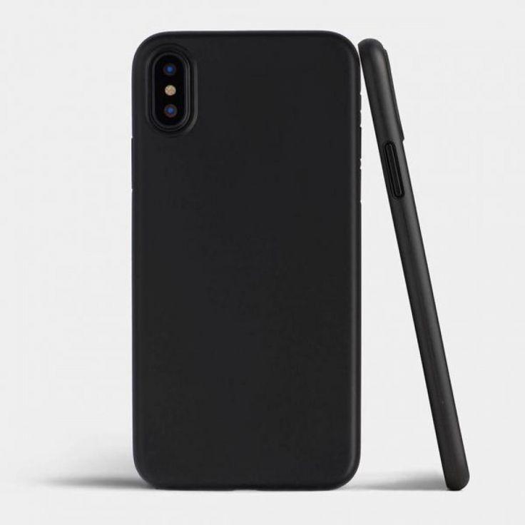 كفر جوال ايفون اكس Iphone X فائق النحافة خفيف و رقيق جدا متجر العجيب اونلاين اسرع موقع توصيل طلبات في الخلي Black Iphone Cases Minimalist Iphone Cases Iphone