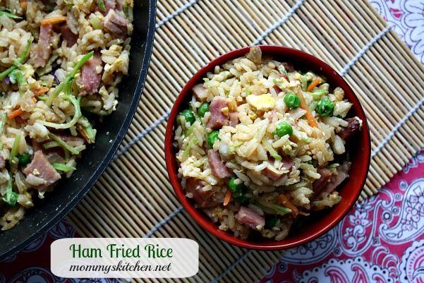 Mommys Kitchen: Ham Fried Rice {Leftover Ham Recipe}