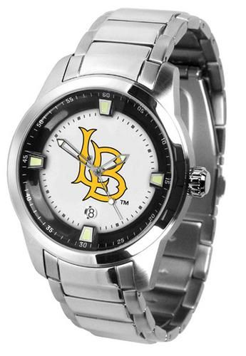 California State University at Long Beach Men's Stainless Steel Outdoor Watch