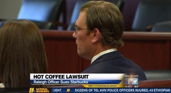 В США обжегшийся кофе полицейский потребовал от Starbucks 50 тысяч долларов - http://russiatoday.eu/v-ssha-obzhegshijsya-kofe-politsejskij-potreboval-ot-starbucks-50-tysyach-dollarov/ Полицейский из американского города Роли, штат Северная Каролина, Мэттью Кор (Matthew Kohr) подал в суд на сеть кофеен Starbucks после того как