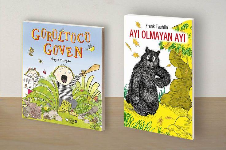 Gürültücü Güven, Ayı Olmayan Ayı ve Çılgınlar Sınıfı çocuğunuzun defalarca okumanızı isteyeceği eğlenceli ve eğitici hikaye kitapları...