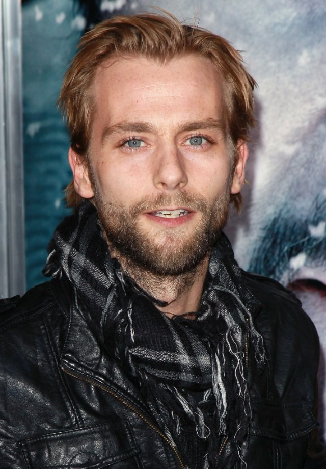 Joe Anderson aka Alistar from Breaking Dawn part 2 i was sooo excited he was in it! :)