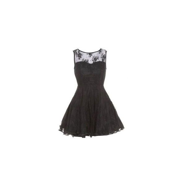 Hearts and Roses London Strapless Black Lace Gothic Emo Mini Party... ❤ liked on Polyvore featuring dresses, strapless dresses, gothic dresses, strapless lace dress, cocktail party dress and goth prom dresses