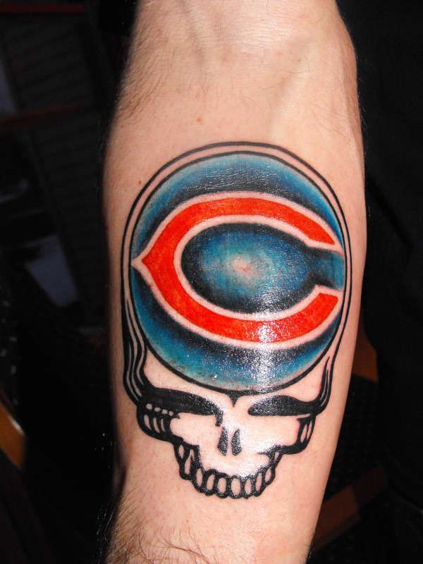 chicago bears tattoos | SYF/ CHICAGO BEARS tattoo