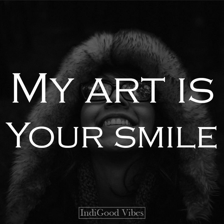 my art is your smile