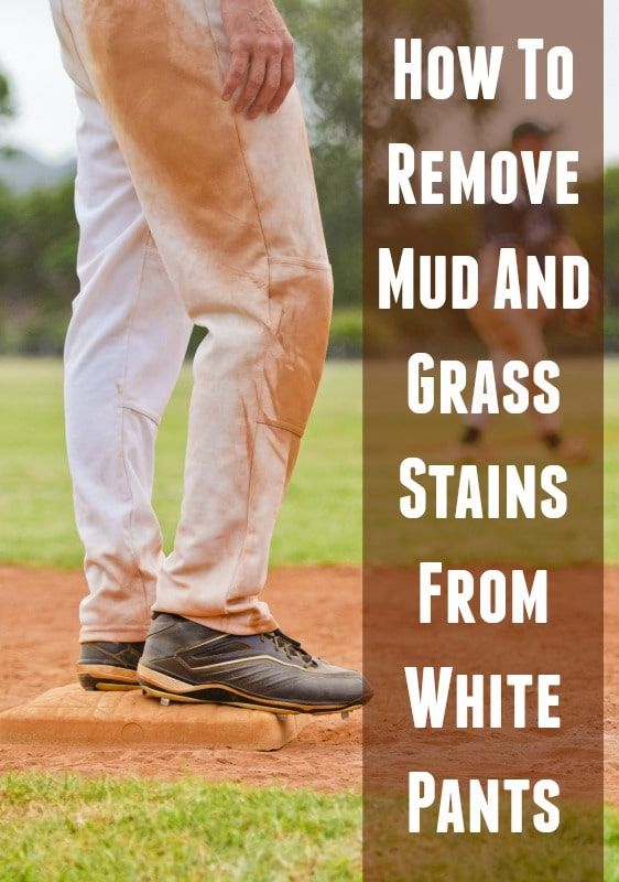 How To Get Mud Stains Out Of White Baseball Pants