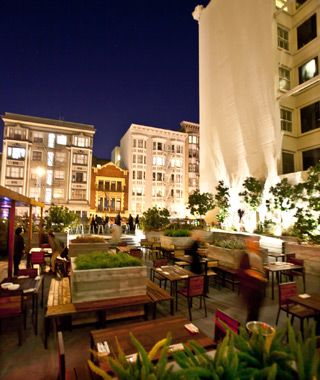 Jones, San Francisco America's Best Outdoor Bars Just three blocks west of Union Square and adjoined by a 1929 building, Jones provides elevated views of the bustlin...