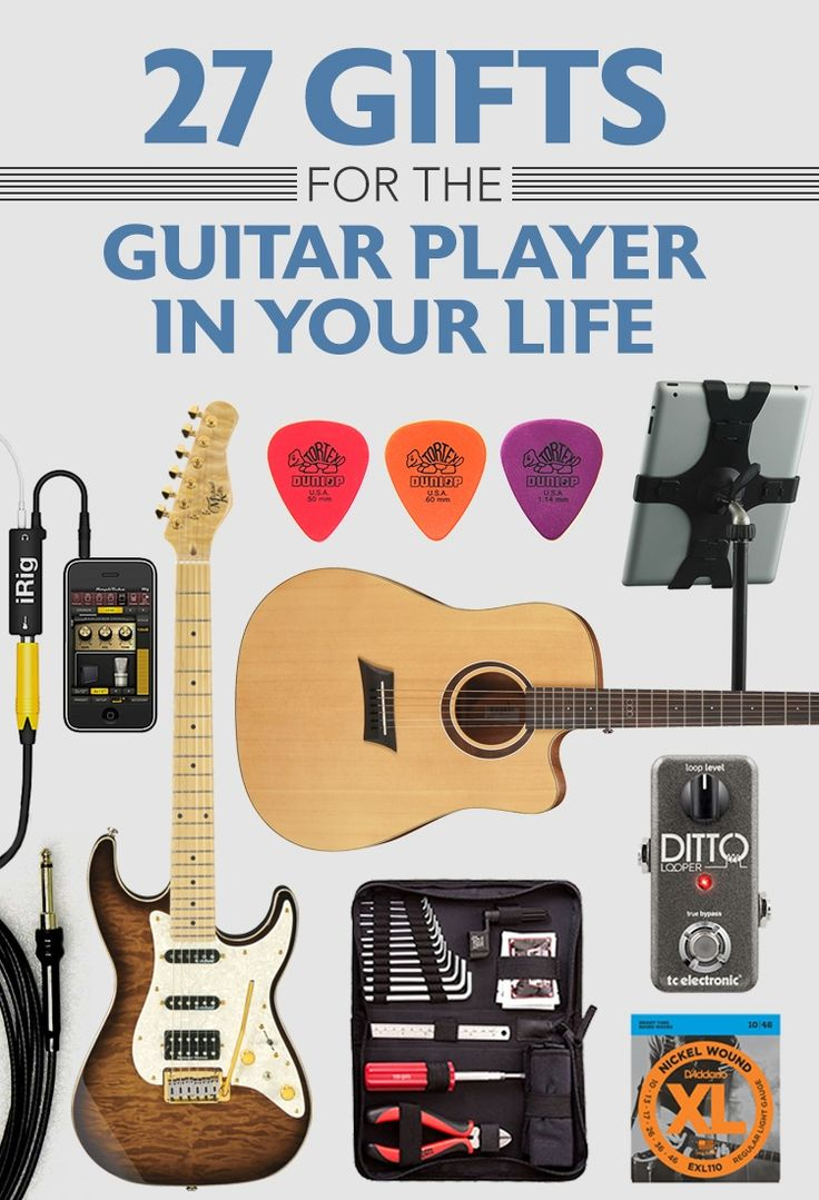 27 gifts for the guitar player in your life blog posts pinterest guitar gifts your life. Black Bedroom Furniture Sets. Home Design Ideas