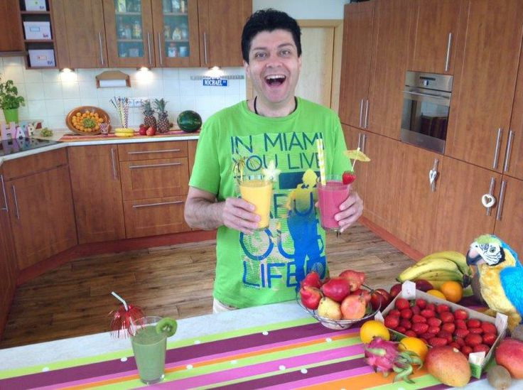 Making great morning smoothies