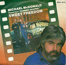 45cat - Michael McDonald - Sweet Freedom / The Freedom Eights - MCA - UK - MCA 1073