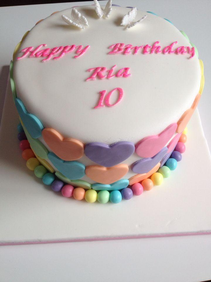 Bday rainbow cake