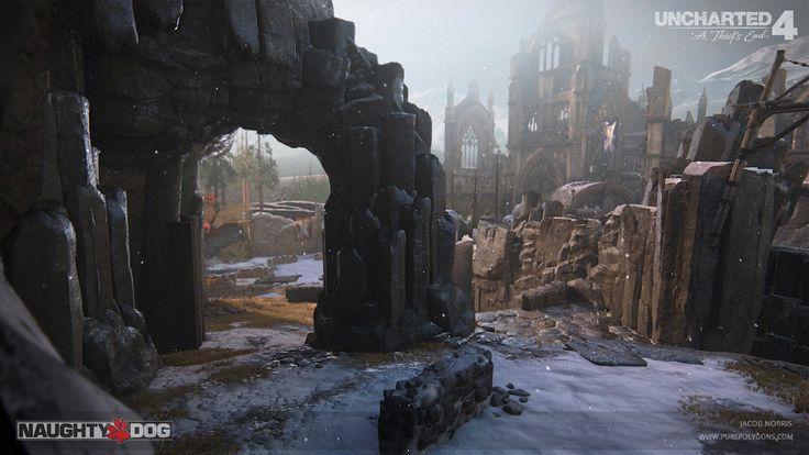 ArtStation - Uncharted 4 - Scotland Multiplayer (Part 1), Jacob Norris