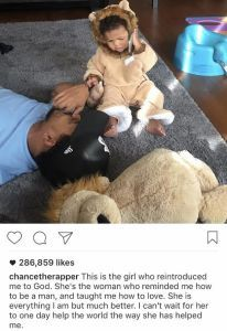 Chance The Rapper's Beautiful Baby Girl Meets The Obamas