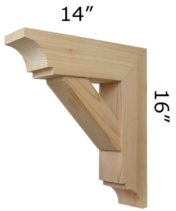 DIY Wood Working Projects: Wood Bracket 03T1
