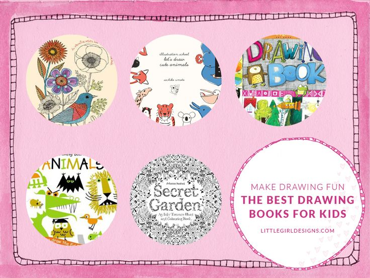 A list of the best drawing books for kids that will get them drawing and having fun in no time flat. These are also great resources for adults!