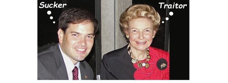 """AN UGLY BREAKUP:  Columnist Phyllis Schlafly, the first national conservative figure to endorse Marco Rubio when he ran for Senate in 2009, has released a 15-page """"memo"""" from Eagle Forum detailing all the ways he betrayed the conservative movement and lied to voters."""