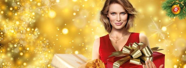 Kobieta Super-Pharm Świąteczna