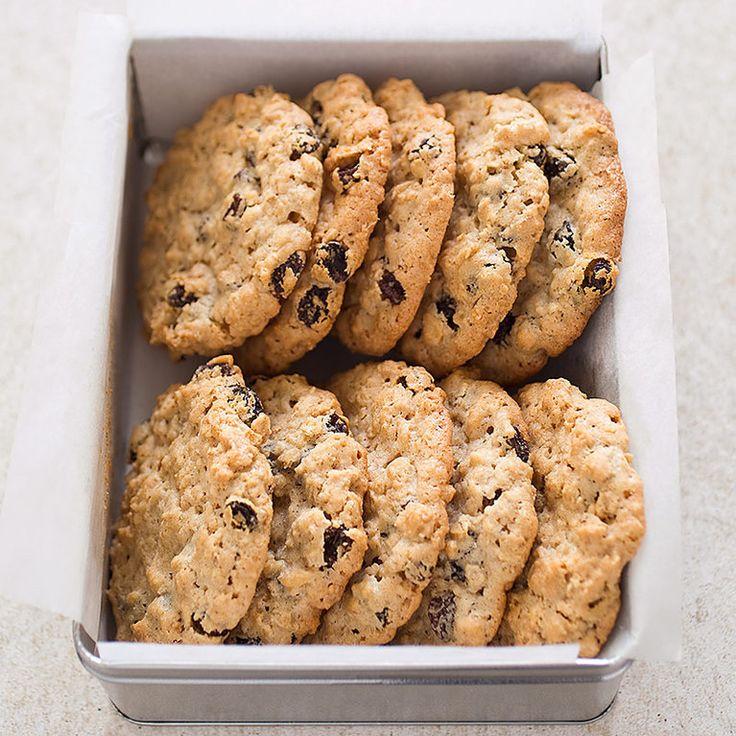Big Chewy Oatmeal Raisin Cookies America S Test Kitchen
