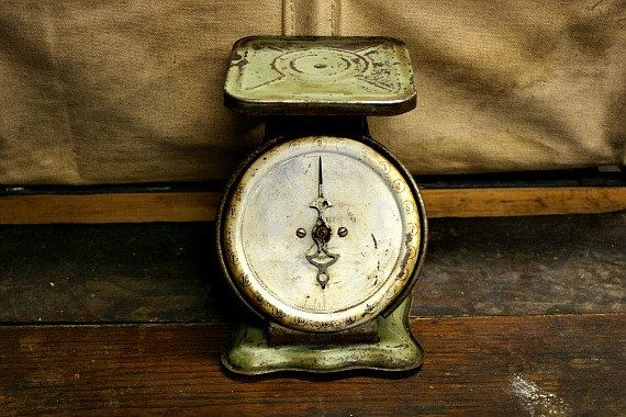 84 best weight scales images on pinterest for Rustic kitchen scale