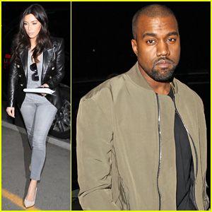 #Kim Kardashian & Kanye West Are A Stylish Duo Jetting Off To New York City! --- More News at : http://RepinCeleb.com  #celebnews #repinceleb #KanyeWest, #KimKardashian, #Music, #Newsroom